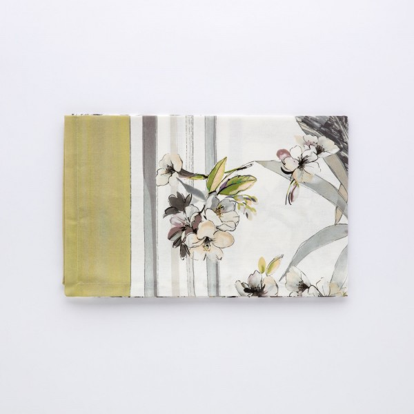 Digital Wolrd New York pure cotton King sheet