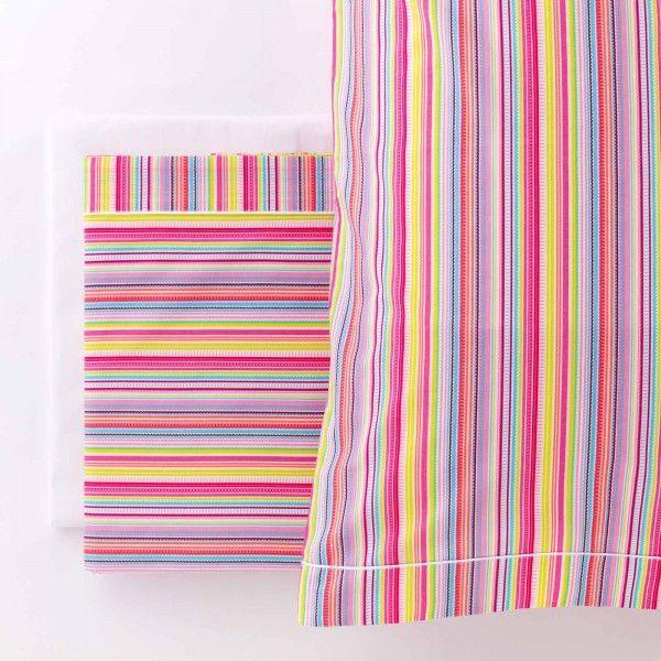 Completo letto Percalle Buondì Rainbow