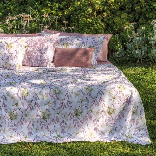 Jacquard Flowers Towel set 1+1