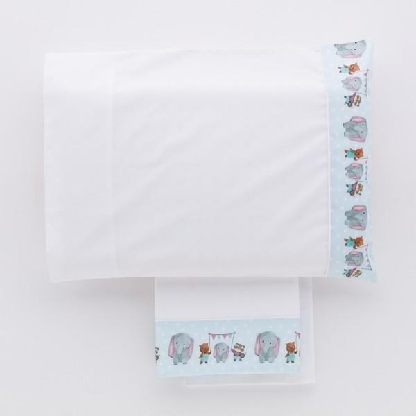 Arles Towel set 1+1 Hand painted