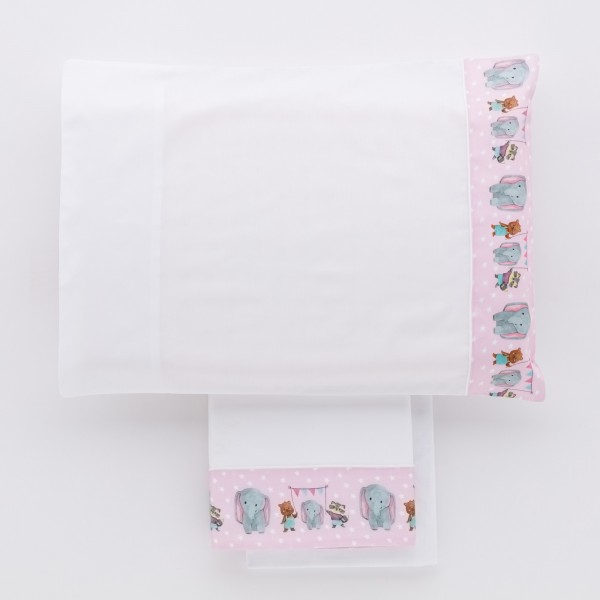 Avignon Towel set 1+1 Hand painted