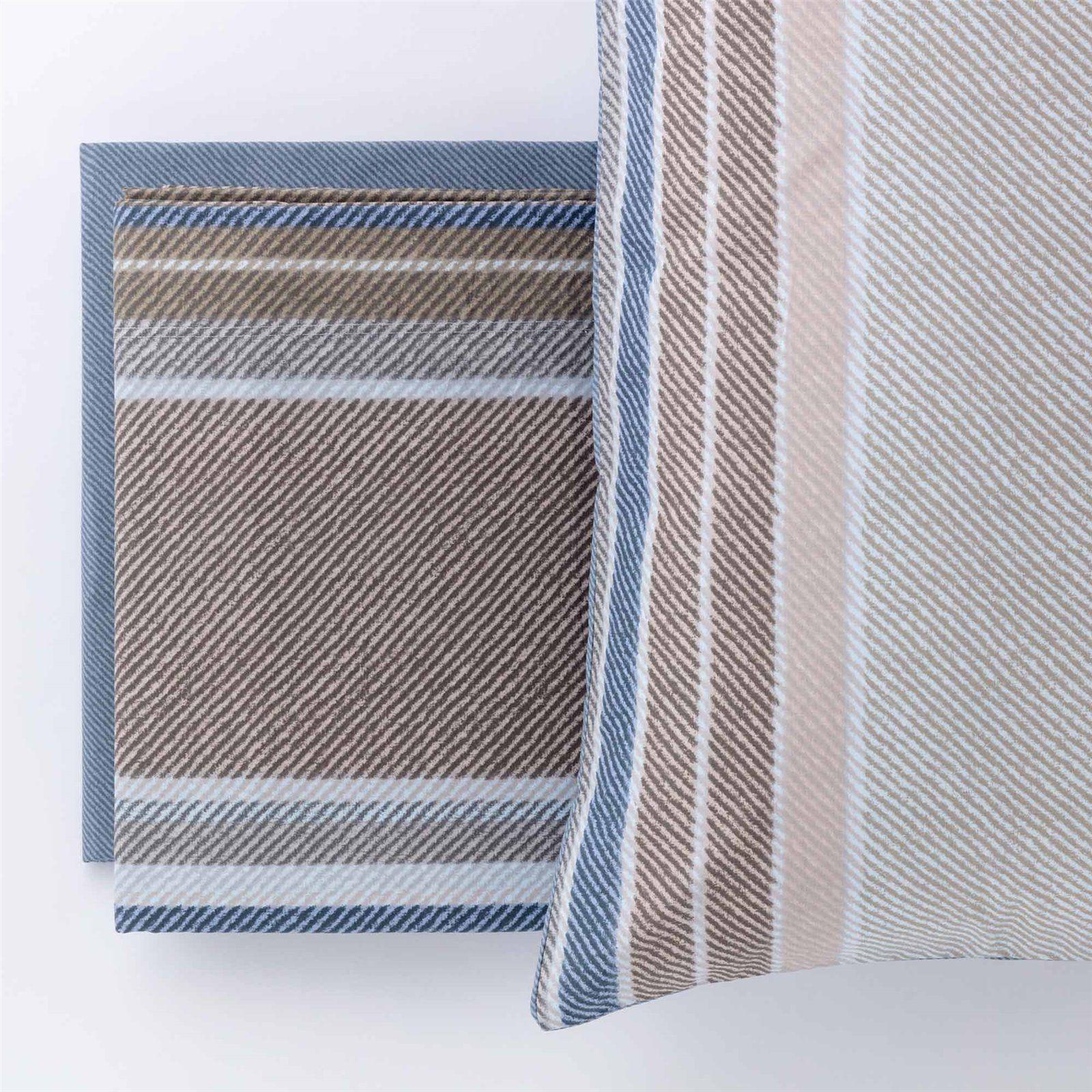 Completo letto  in cotone Shetland