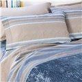 Aristocratic pure cotton bed sheet set
