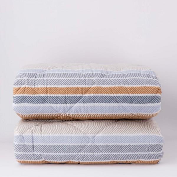 Ivory Cushion in Tibetan Lamb