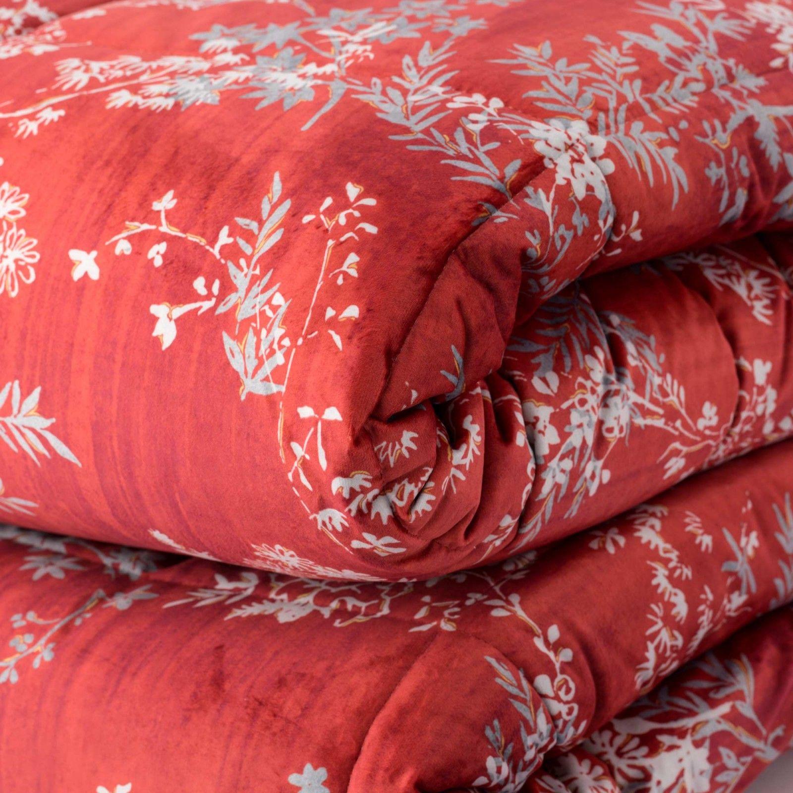 Plaid Cotton duvet cover