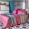 Plaid sheet set