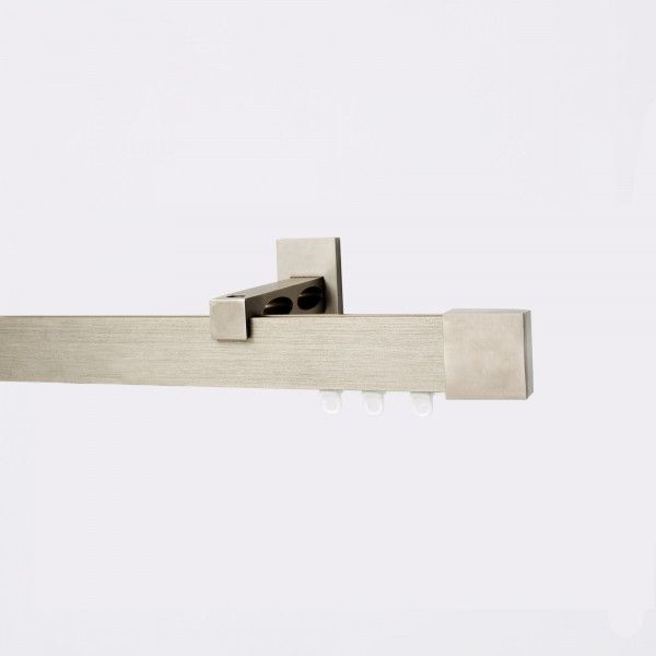 Bastone wave piattina a strappo 200cm argento