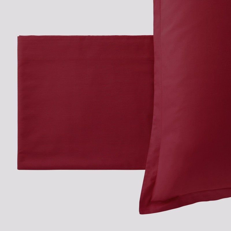 Completo Letto Paint Bordeaux
