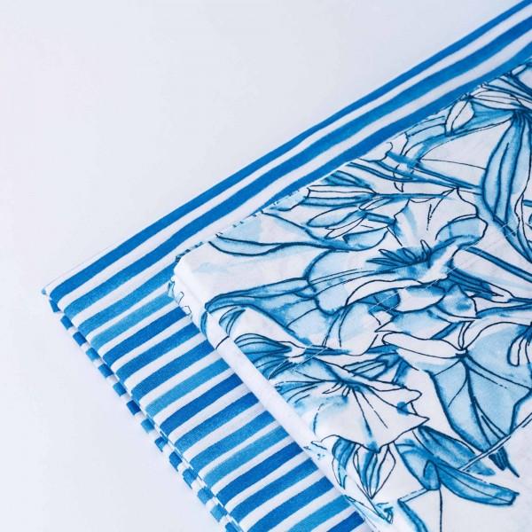 Himba digital printed pique bedspread