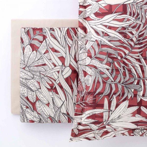 Completo lenzuolo Copriletto in raso Selvaggia