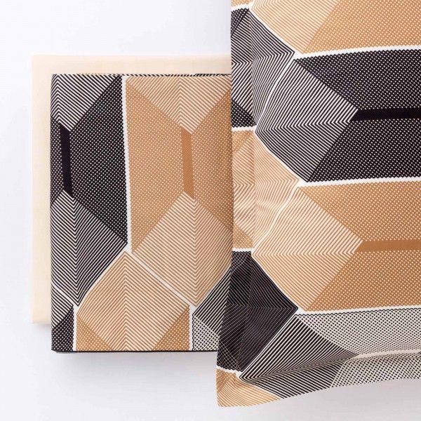 Completo letto in Puro Percalle di Cotone Colors
