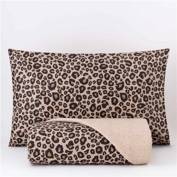 Parure Copripiumino Leopard