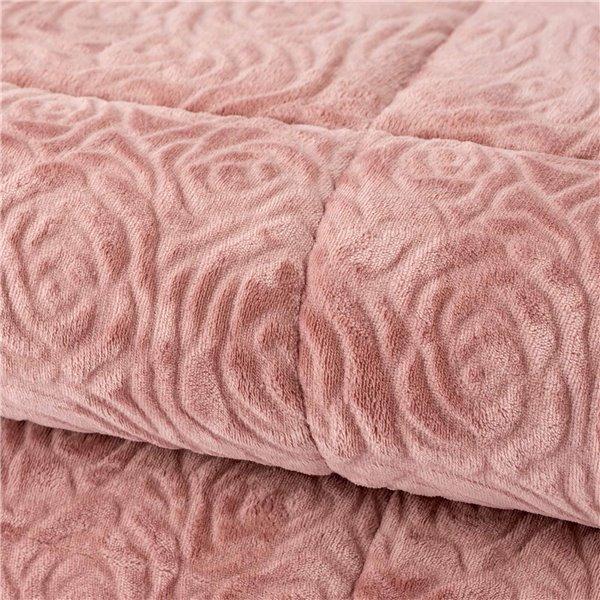 Clematis Summer Cotton Satin Bed Set