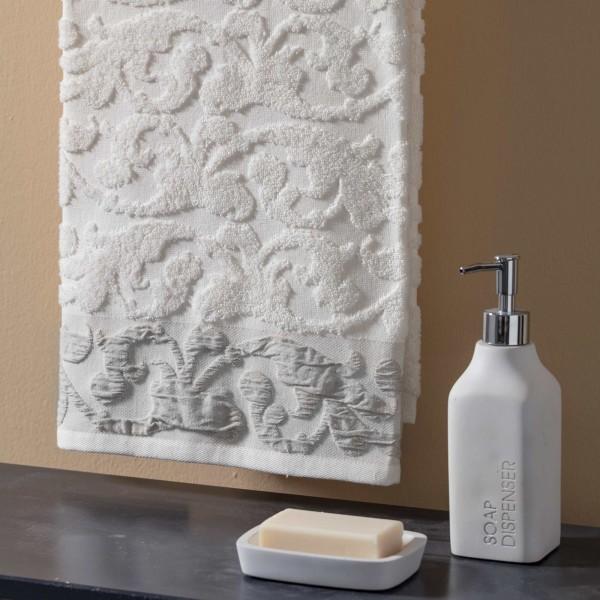 Maiolica shower towel