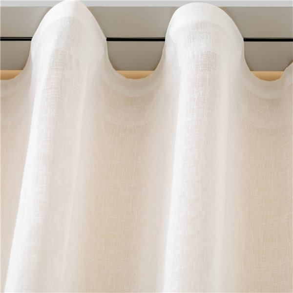 Vetrage silver curtain rod