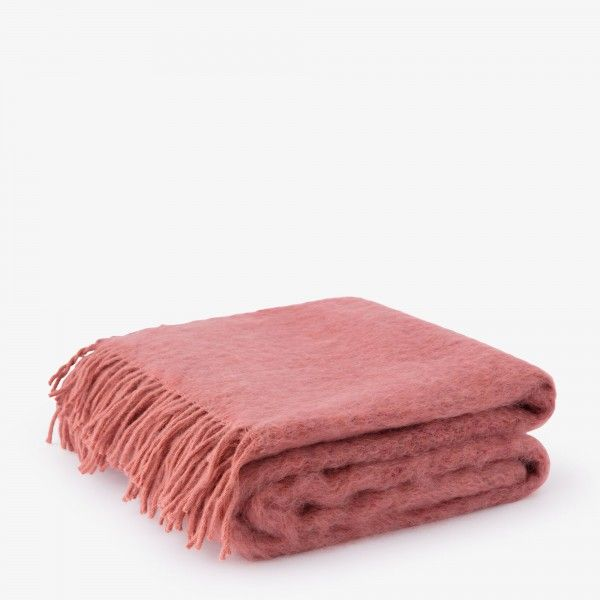 Plaid Indulgence in mohair e lana