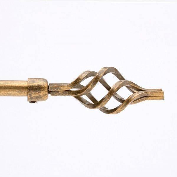 Bastone ferro Spirale