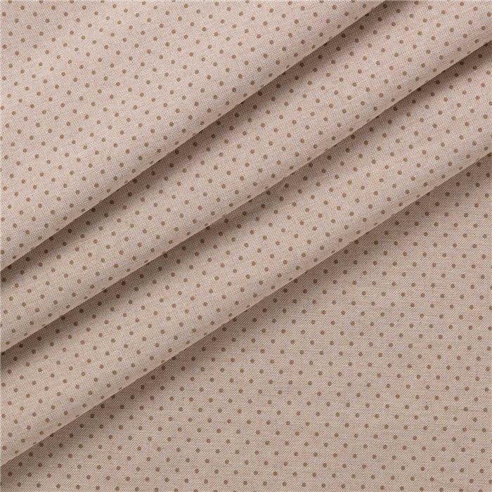 Tessuto Stampato Panama Pois
