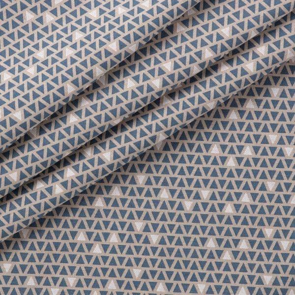 Tessuto stampato Panama Triangoli