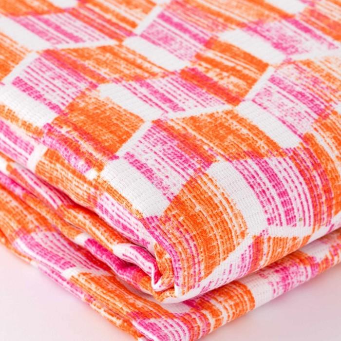 Honeycomb guest towel set