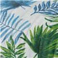 Copriletto trapuntato Leaves