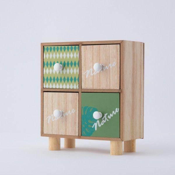 Cassettiera con 4 cassetti