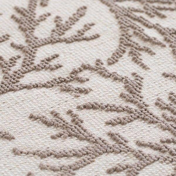 Tappeto Sardo in Puro Cotone Corallo