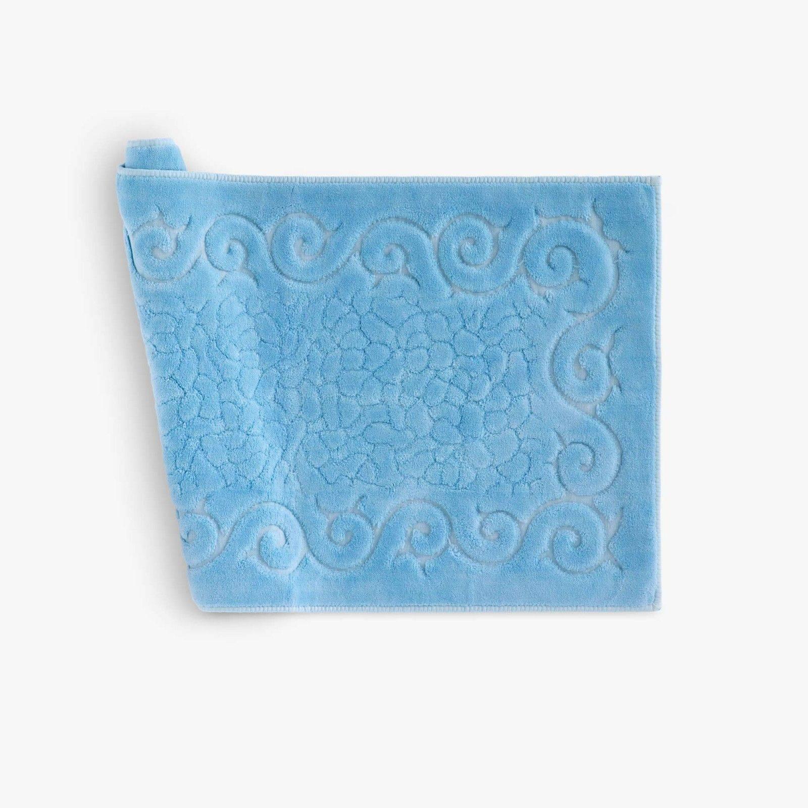 Arredo Bagno Colore Azzurro.Tappeto Bagno Regal Misura Cm 40x60 Colore Azzurro