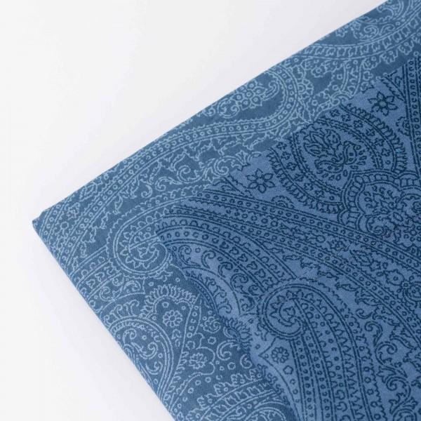 Loneta printed sensation red leaf fabric by the metre