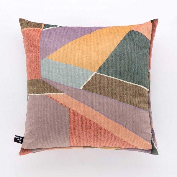 Cuscino arredo velluto Klee