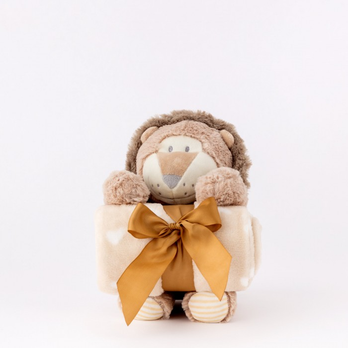 copy of Plaid con Peluche Renna