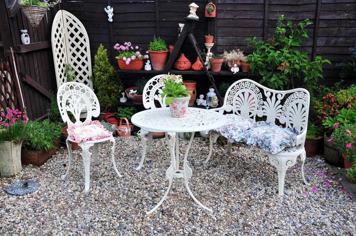 patio all'inglese