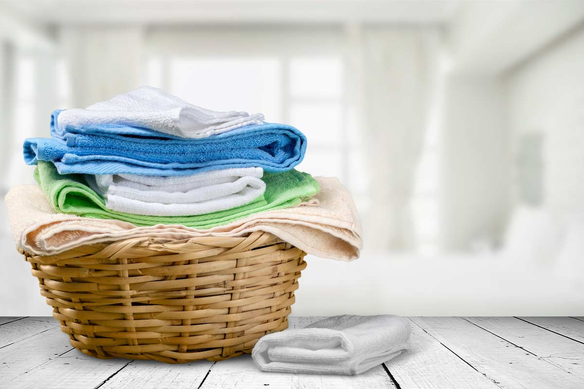 disinfettare asciugamani