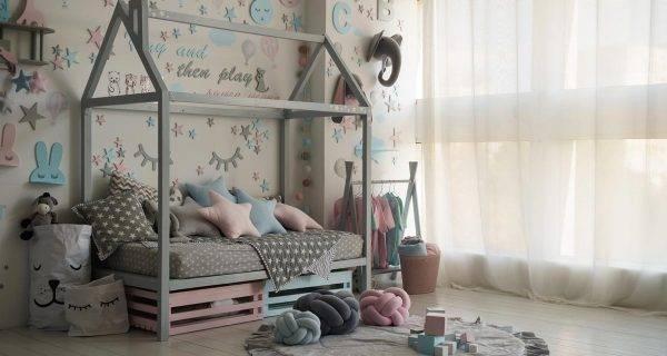 scegliere tende per camera bambini